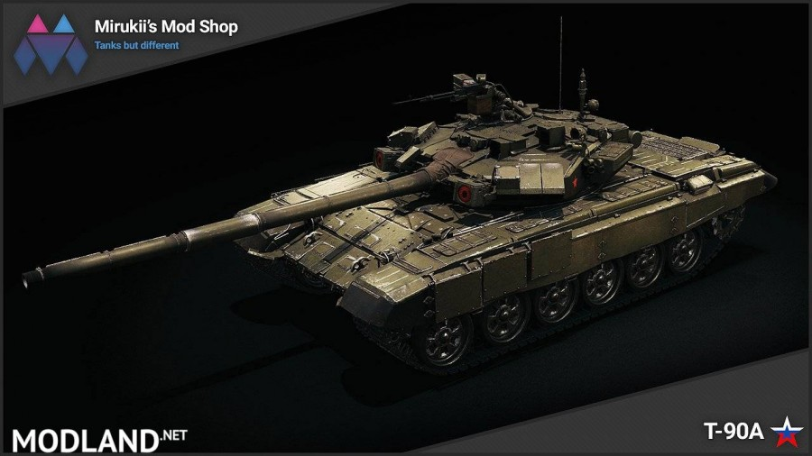 Mirukii's T-90A Remodel (Obj. 140 Replacement) [1.5.1.0]
